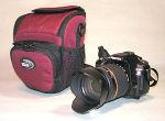 カメラとバッグ