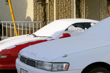 雪自体はたいしたことないので、すぐに溶けると思います