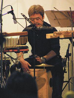 2008年の野反湖フィールドフォークコンサートにて