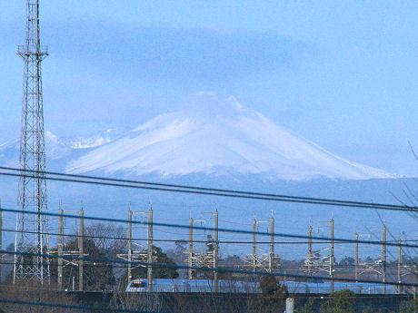浅間山と、あさま508号