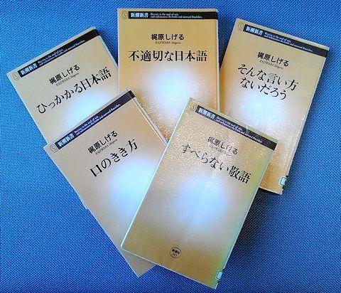 「ひっかかる日本語」「不適切な日本語」「そんな言い方ないだろう」「口のきき方」「すべらない敬語」